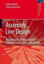 Assembly Line Design : The Balancing of Mixed-Model Hybrid Assembly Lines...