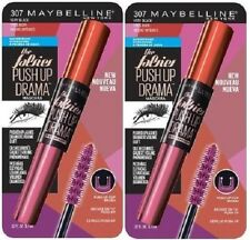 2 TWO WaterProof  Maybelline The Falsies Push Up Drama Mascara, 307 Very Black