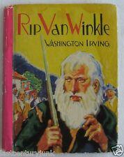 Rip Van Winkle Illustrated By Robert Graef 1941 Story By Washington Irving