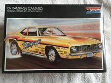 1969 Rampage Z28 Camaro  Sealed Kit!! USA Made!! Monogram Vintage 68 67