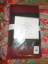 POTTERY BARN BUFFALO CHECK KING SHAM  NEW ,1 (ONE)