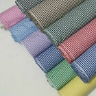 "1/8"" Gingham Check Polycotton Fabric Dress, Craft per Metre - 45"" - 114cm Wide"
