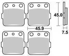 Jeu 4 plaquettes de frein Avant gauche+droit YAMAHA YFM 600 G GRIZZLY 4X4 98-01