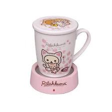NEW Rilakkuma USB Mug Cup Warmer Nonbiri Neko San-X Korilakkuma Tea Time Kawaii