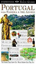 PORTUGAL MADEIRA & THE AZORES DK EYEWITNESS TRAVEL GUIDES PB 1997 VERY GOOD