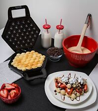 Bubble Waffle Maker Breakfast Snacks Dessert Egg Taste Kitchen Cookware Pancake