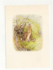 The Tale Of Benjamin Bunny by Beatrix Potter Postcard 527a