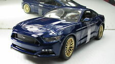 2015 MUSTANG GT COUPE METALLIC BLUE NEW IN BOX