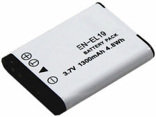 new EN-EL19 Battery and Charger for Coolpix S6500 S3500 S3600 S4300 S4150 ENEL19
