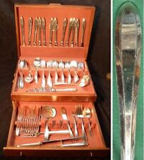 1937 - Reverie Silverplate - Service for 12 - Nobility Pattern - 99 Pieces
