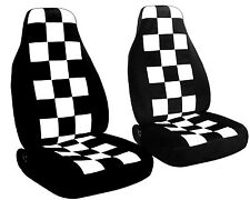 07-present  Mini Cooper front checkers  seat cover Choose your color