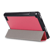 "For Amazon Kindle Fire HD 7"" 2015 Kickstand Leather Flip Folio Case Cover Tablet"