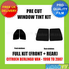 CITROEN BERLINGO VAN 1998-2007 FULL PRE CUT WINDOW TINT KIT