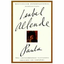 Paula by Isabel Allende (1996, Paperback/LIBRO/TIENE DEDICATORIA