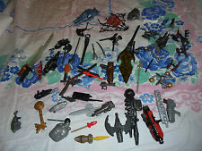 XL Lot of boys action figures accessories fake play war ninja toys shields