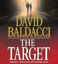 New Audio Book The Target by David Baldacci Abridged on 8 CDs Great Story