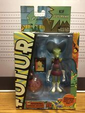 Futurama Kif Figure + Robot Devil Build-A-Bot Part 2008 Toynami Matt Groening