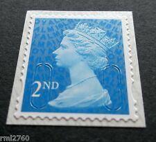 NEW 2016 2nd Class M16L + MBIL MACHIN SINGLE STAMP from Business Sheets