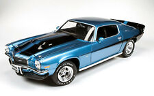 1971 Baldwin Motion Camaro BLUE 1:18 Auto World 1013