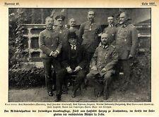 Fürst v.Hatzfeld Herzog zu Trachtenberg als Militärinspekteur 1916 *  WW1