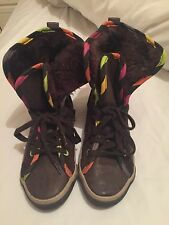 Girl's Little Marcel High Top Trainers size Euro 32 UK 13