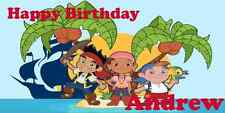 Birthday banner Personalized 4ft x2ft Jake and the Neverland Pirates Banner