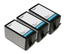Reman HP 920XL CD975AN Black Ink Cartridge for HP OfficeJet 6500a Plus 6000 3PK