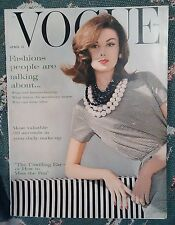 ***VINTAGE VOGUE MAGAZINE April 15th 1960
