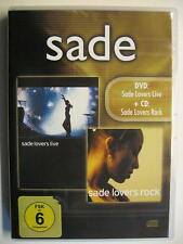 "SADE ""LOVERS LIVE + LOVERS ROCK"" - DVD + CD"