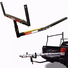 Pick Up Truck Bed Hitch Extender Extension RACK Canoe Boat Kayak Lumber w/flag