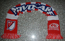 AdvoCare We Build Champions Major League Soccer MLS Sponsor Knitted Winter Scarf