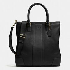 BUSINESS TOTE IN BOMBE LEATHER (COACH F71640)