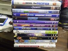 (17) Childrens Adventure DVD Lot: Disney Pacifier Pagemaster (2) Hot Wheels MORE