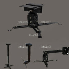 Tilting Extendable Universal LED LCD DLP Projector Ceiling Wall Mount Bracket