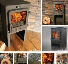 Ekol Clarity 8 KW (High) Multi-fuel Stove Defra Approved