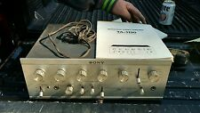 vintage sony TA-1130 amplifier WITH MANUAL