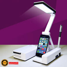 Rotatable Foldable Portable LED Rechargeable Table Lamp Desk Lamp Reading Light