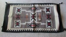 "Navajo Indian Designed 20 ""by 38 1/2"""" Storm Pattern Style Wool Rug!!Gorgeous!"