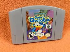 DONALD DUCK GOIN' QUACKERS *Cart Only* Nintendo 64 N64 Super Fast Free Ship RARE