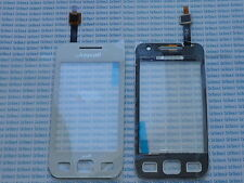 Touch screen touchscreen per Samsung SGH S5250 wave lite bianco white vetrino