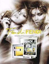 PUBLICTE  ADVERTISING 2010   FANDI  DI FENDI  le nouveau parfum  120313