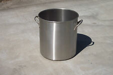 60 Qt Stainless Steel Stock Pot. Part #78640
