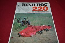 Bush Hog 220 Flex Wing Rotary Cutter Dealer's Brochure YABE10