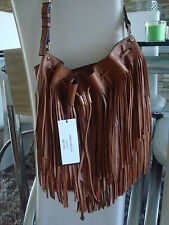Karen Millen Melrose LIMITED EDITION Fringe Leather Shoulder Bag New RRP £265