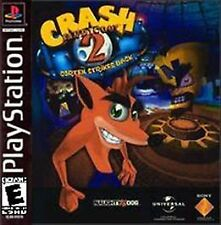 Crash Bandicoot 2: Cortex Strikes Back (Sony PlayStation 1, 2000) ACCEPTABLE