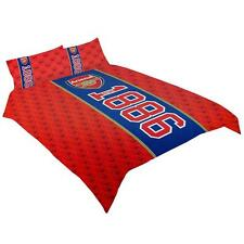 Arsenal FC Reversible Double Duvet-Quilt-Bedding Cover Set w. 2 x Pillowcase