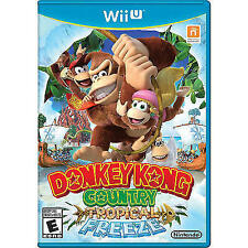 Donkey Kong Country: Tropical Freeze FIRST PRINT (Nintendo Wii U, 2014)