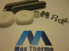 NEW Dishwashers Winterhalter GS14 / GS15 / GS29 DOOR LEVER ROLLERS AND SPRINGS