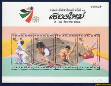 1995 THAILAND 18th SEA GAMES STAMP SOUVENIR SHEET S#B79e MNH PERF FRESH