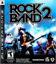 Rock Band 2 (PS3) Music Drums Guitar Singing Kids Game Rockband Region Free PAL